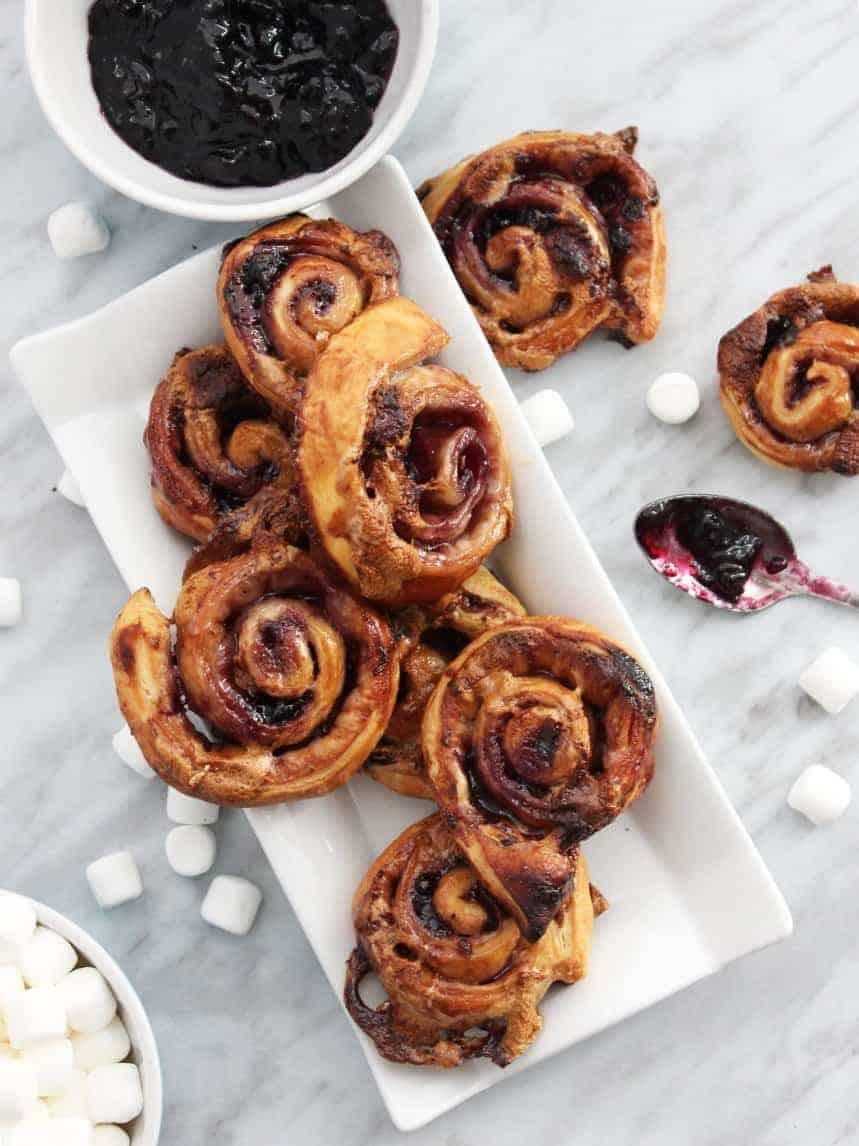Sweet Puff Pastry Pinwheels