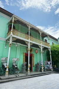 The beautiful Peranakan Mansion