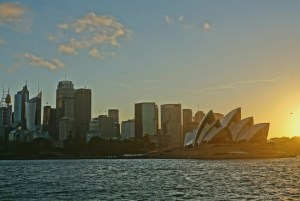 View of Sydney from the ferry