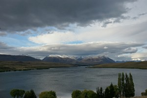 Lake Alexandrina,  with the guest appearance of the Southern Alps