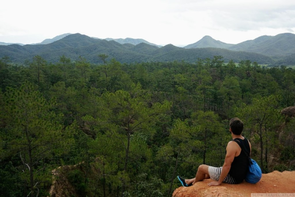View of Pai's surroundings from the Pai Canyon