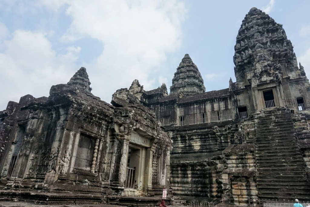 Angkor Wat main temple