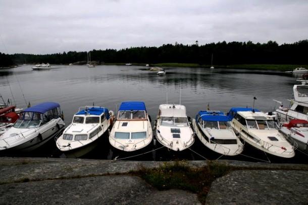 Boats at Finnhamn