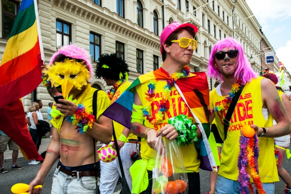 Stockholm Pride - Photography by Lola Akinmade Akerstrom