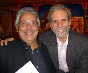 Agustín Pániker con Daniel Goleman