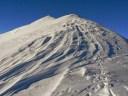 Snehové náveje na Bystrej, Západné Tatry, 27. november 2013