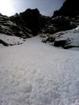 Nános lavíny pod Rysmi, Ťažká dolina, 27. marec 2014