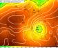 Príchod rozsiahlej tlakovej níže nad naše územie, 15. máj 2014. Zdroj: SHMU