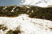 Celkový pohľad od čela lavíny, 22.5.2014