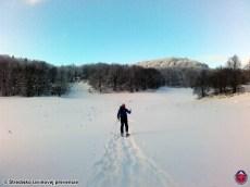 Snehové podmienky pod Koniarkami, Veľká Fatra, 18. január 2016