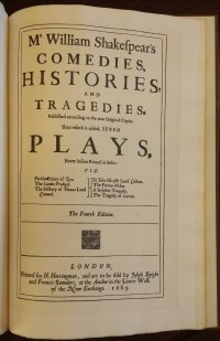 Fourth Folio Title Page