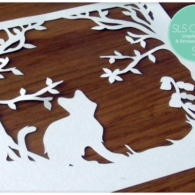 Bluebell Wood Timothy Kitten Template