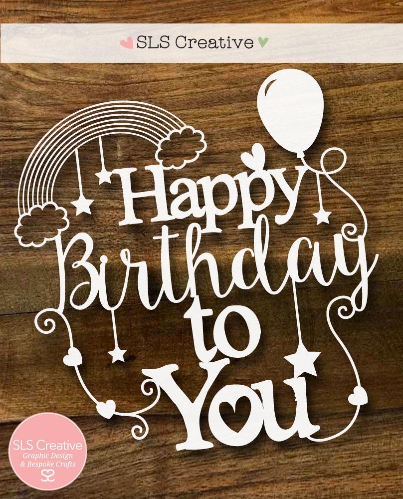 Happy 2nd Birthday SLS Creative! (& Free Paper Cutting