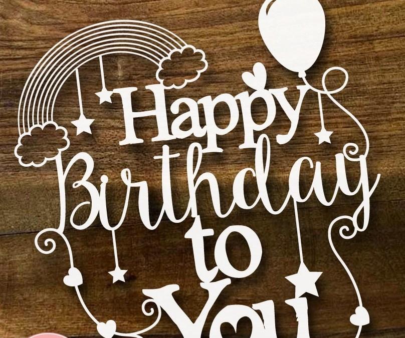 Happy 2nd Birthday SLS Creative! (& Free Paper Cutting Template)