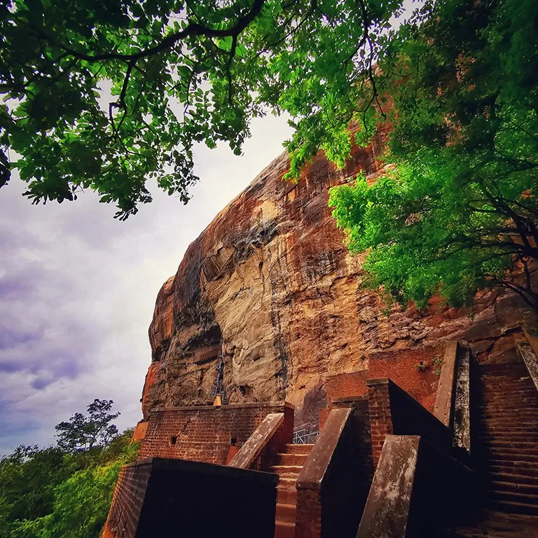 sigiriya side view