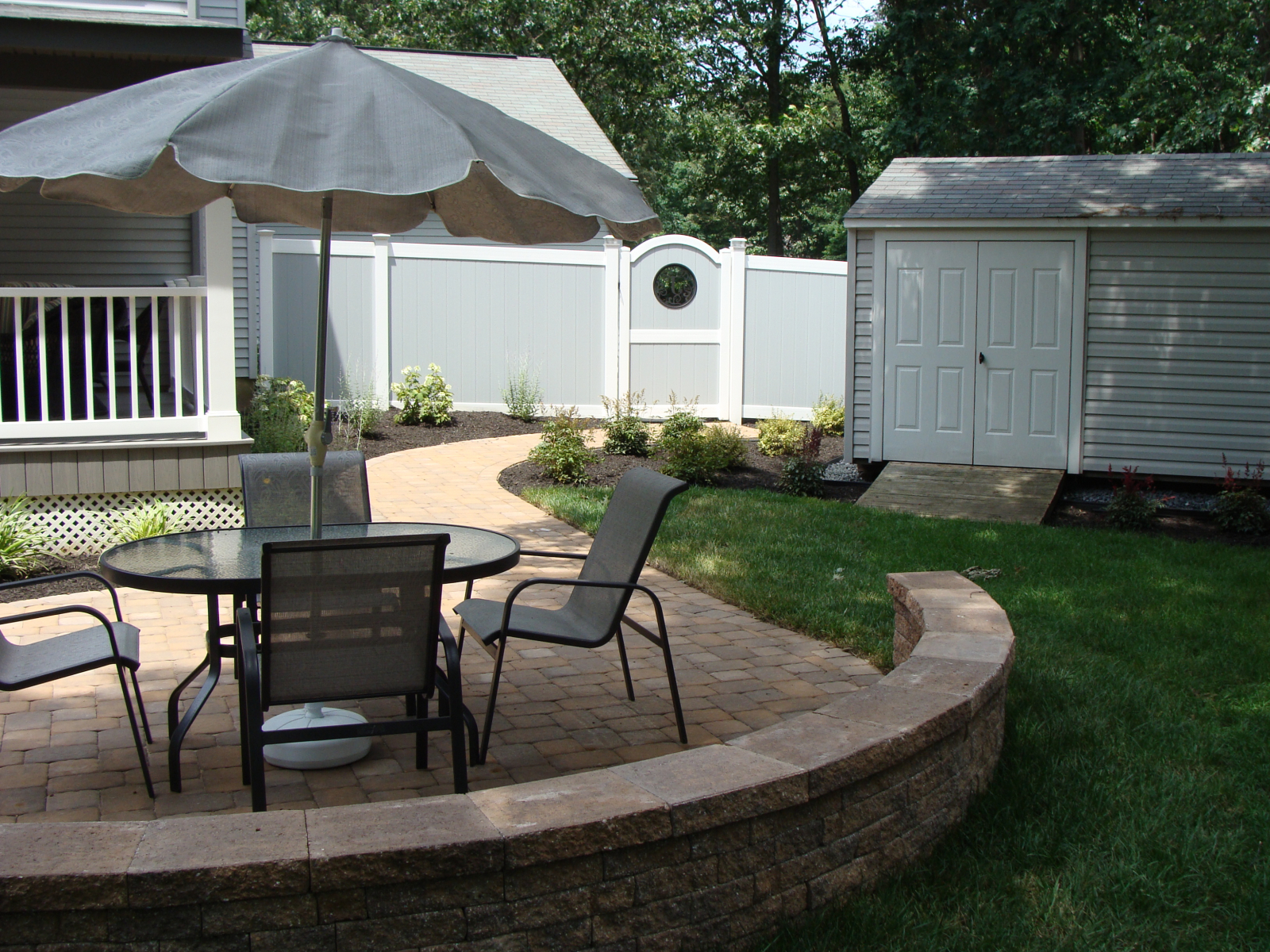 Pool Patio and Grilling Station in Westampton, NJ | SLS ... on Patio Grill Station id=64554