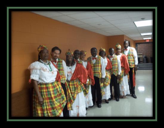 St. Lucian Quadrille dancers