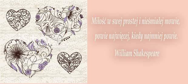 cytaty o miłości Shakespeare