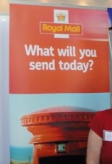 Royal Mail stand at DUP conference