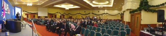 UUP hall filling up