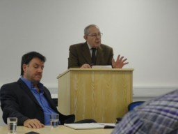 Hugh Smyth speaking at 2011 PUP conference