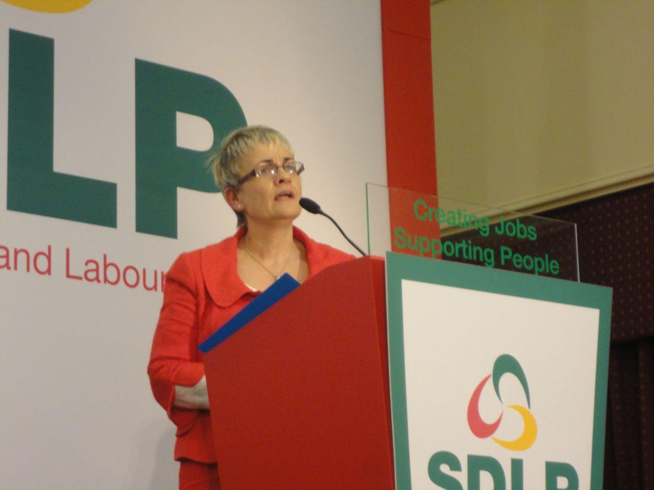 Margaret Ritchie outgoing leader speech