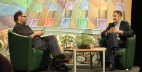Malachi O'Doherty and Tom Rachman