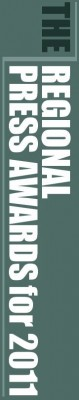 Society of Editors' Regional Press Awards 2011 logo - rotated