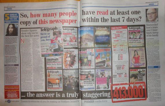 Belfast Telegraph readership article