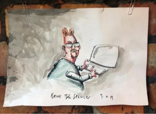 Mick Fealty, editor Slugger O'Toole - Brian John Spencer