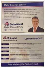 UUP commitment card