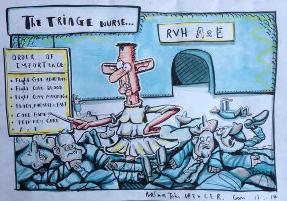 the triage nurse cartoon