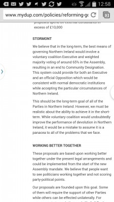 DUP website May 2014