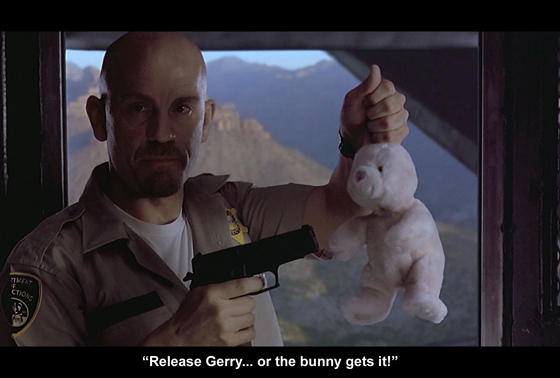 Or the bunny gets it!