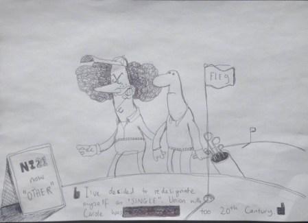 Rory McIlroy cartoon, Brian John Spencer, Northern Ireland cartoonist
