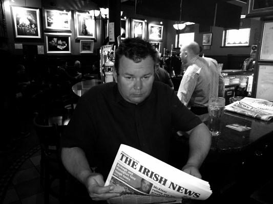 Matthew Collins, Belfast, August 2014