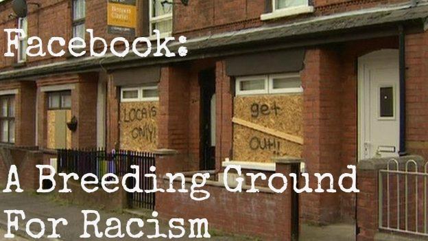Image result for facebook racism