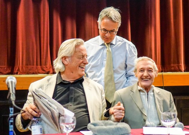 Michael Mansfield QC, Alex Attwood MLA, Paddy Hill