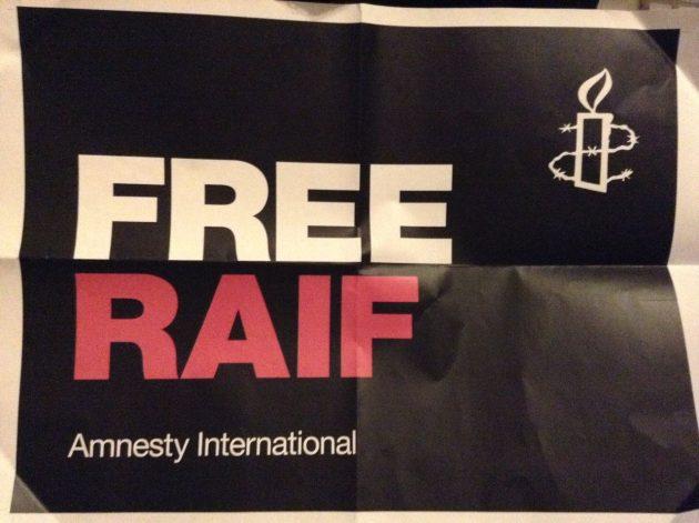 Free Raif poster