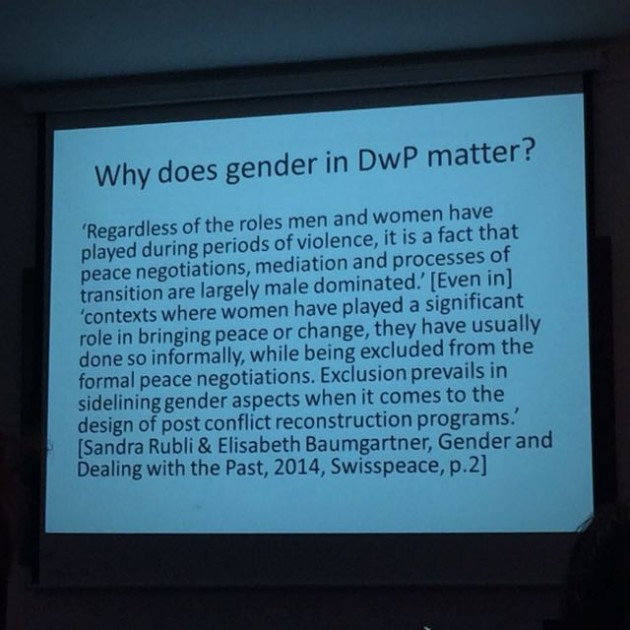 ImagineBelfast15 Gender Dealing with the Past 05
