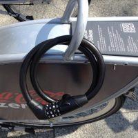 Belfast Bikes combination lock