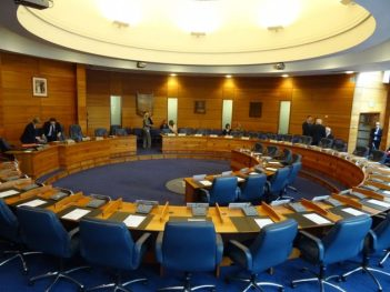 Lisburn Castlereagh council chamber