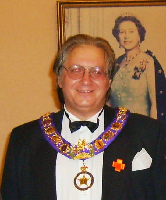 Richard Harvey, Grand Chaplain of the Grand Orange Lodge of England, and member of LOL 844 in Sheffield