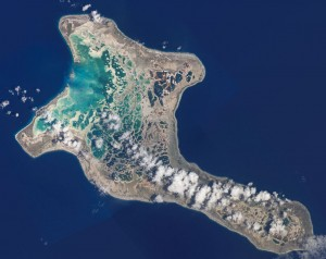 With a time zone of GMT -14, Kiritimati Atoll is the first place on earth to greet each new day.