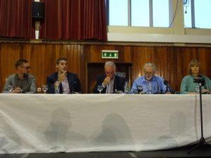 West Belfast Talks Back Gavin Robinson talking