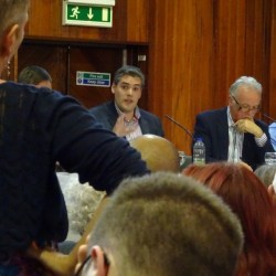 West Belfast Talks Back Gavin looking at Kathryn
