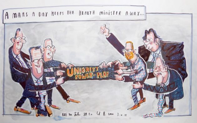 Stormont cartoon