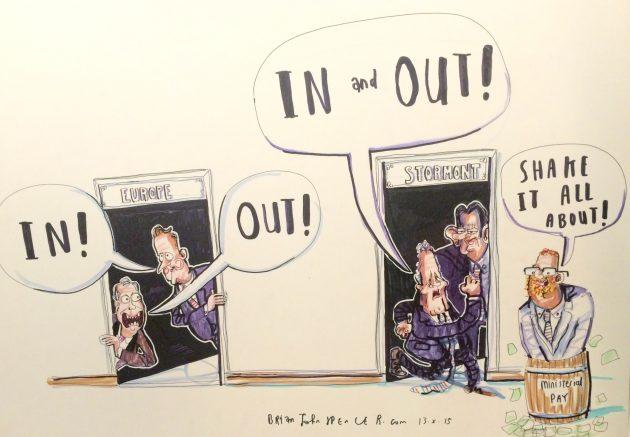 DUP cartoon
