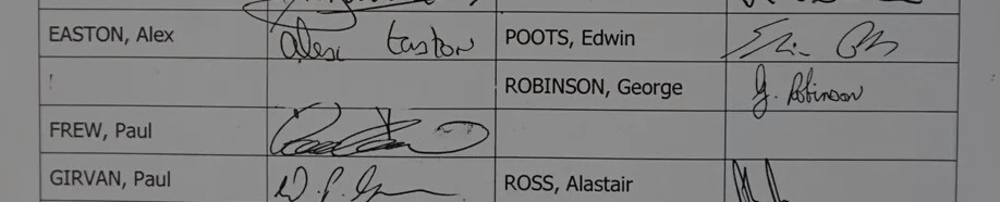 SSM POC Arlene Foster Peter Robinson