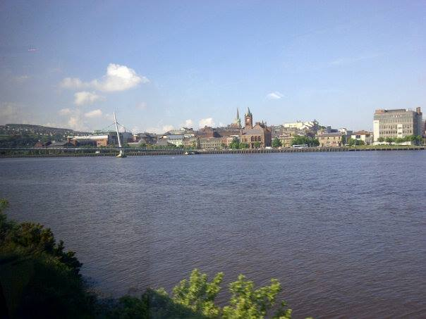 A view of Derry (or is it Londonderry?)